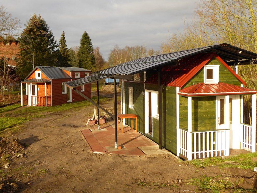 Tinyhouse mit Solardach